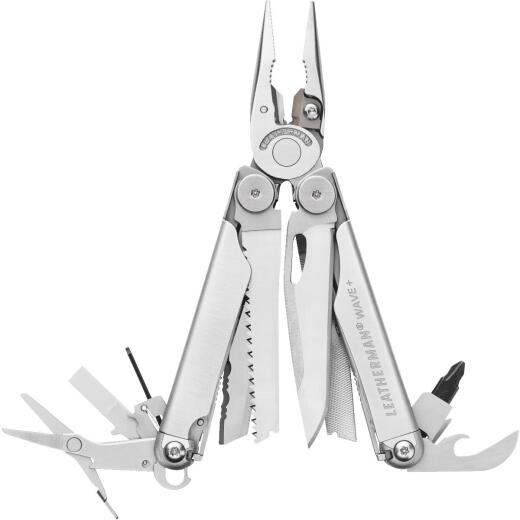 Leatherman Wave 18-In-1 Stainless Steel Multi-Tool