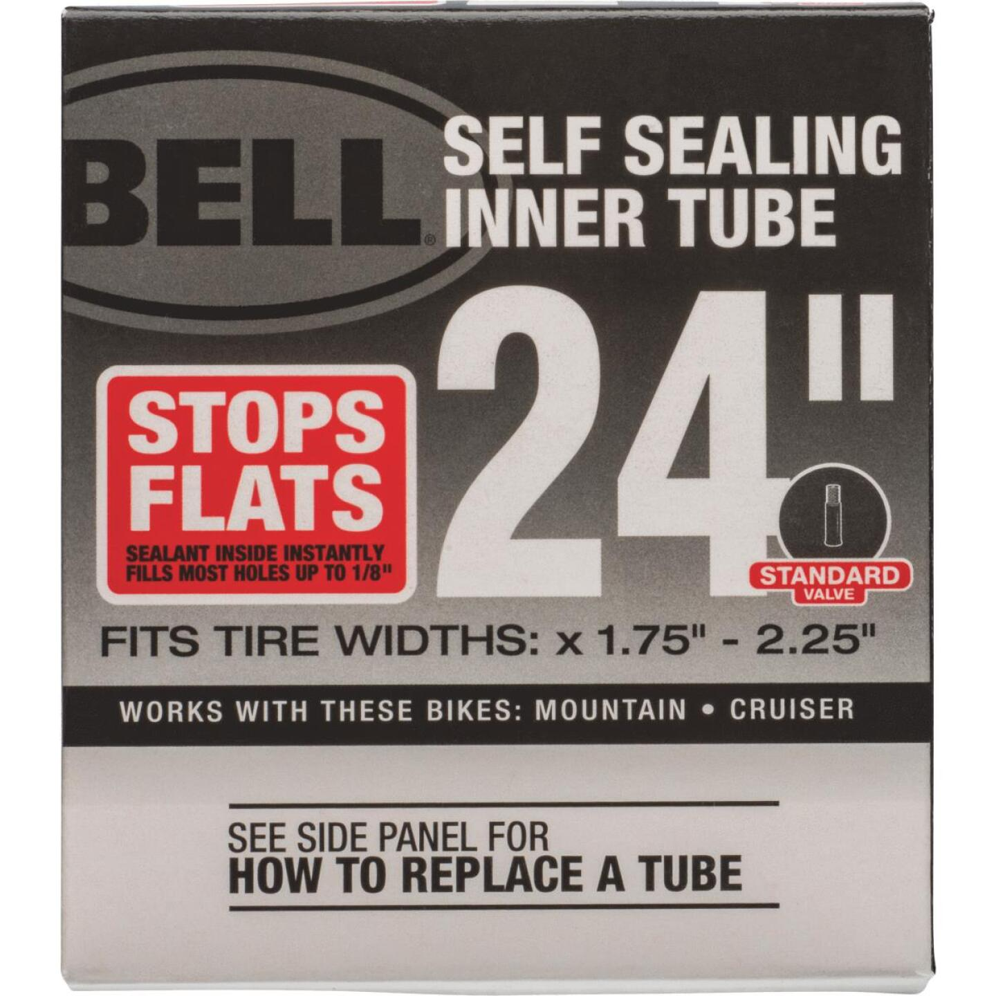 Bell Sports 24 In. Self-Sealing Bicycle Tube Image 2