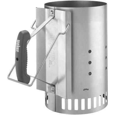 Weber 7-1/2 In. Aluminized Steel Chimney Charcoal Starter
