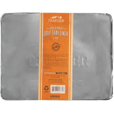 Traeger Aluminum Scout & Ranger Drip Tray Liner (5-Pack)
