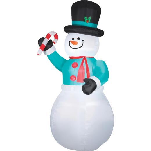 Gemmy 6 Ft. W. x 12 Ft. H. Airblown Inflatable Snowman
