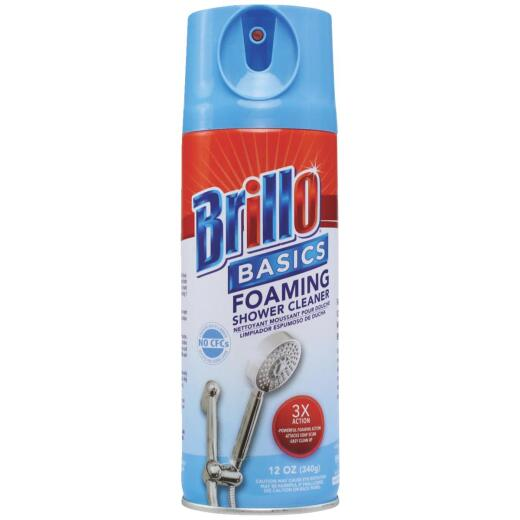 Brillo Basics 12 Oz. Foaming Spray Tub, Tile & Shower Cleaner
